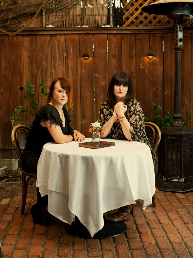 Tia Harrison and Marisa Guggiana are butchers, authors, restaurateurs, and the founders of the Butcher's Guild.