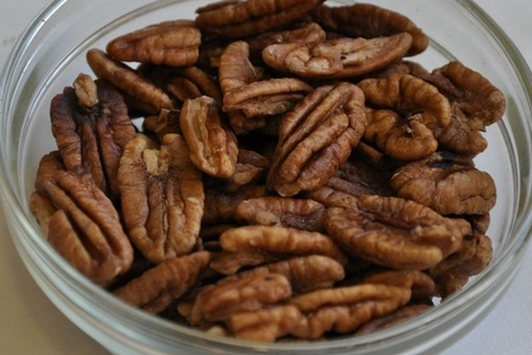 Crispy Spice-Brined Pecans