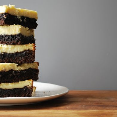 Cheesecake-Topped Brownies
