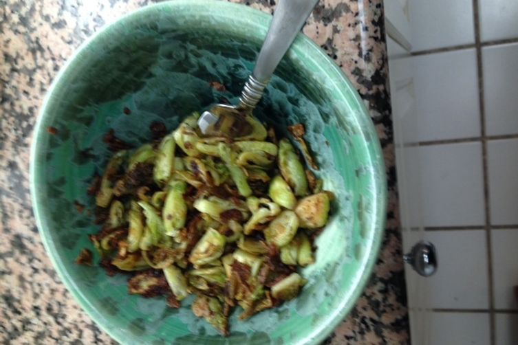sauteed brussels sprouts without a recipe