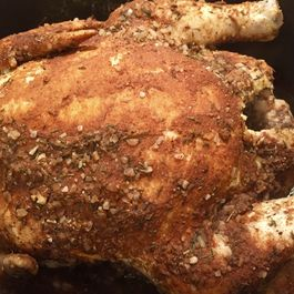 Easy Faux-Tisserie Chicken for the Oven, Crockpot or Instant Pot