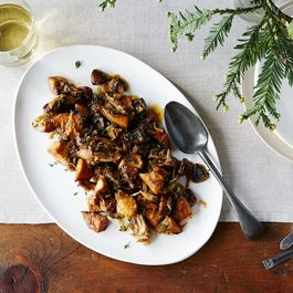 B1e3f7e5 797b 4c22 a35f d3d8a37d6618  2015 1113 wild mushrooms with thyme and caramelized shallots alpha smoot 145