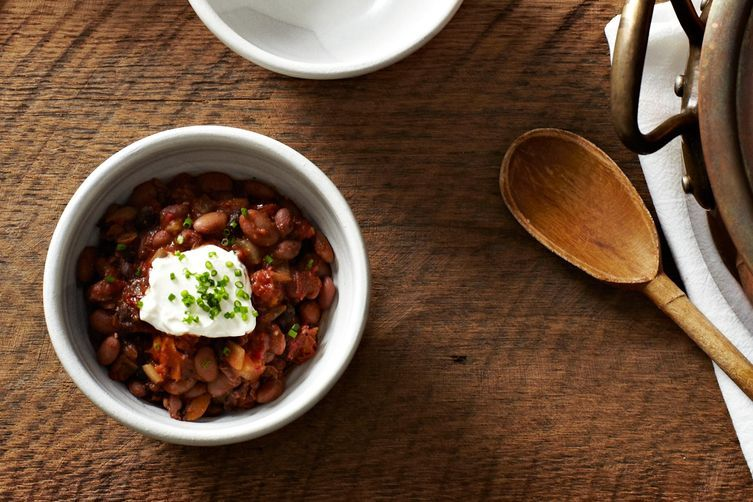 Sightly Smoky Mixed-Bean Chili on Food52