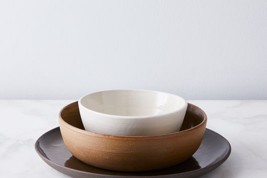 Helen Levi Handmade Mixed Earth Dinnerware (3-Piece Set)