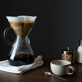 Glass Handled Chemex Brewer with 100 Filters