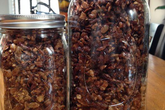 Cinnamon Grain-Free Granola