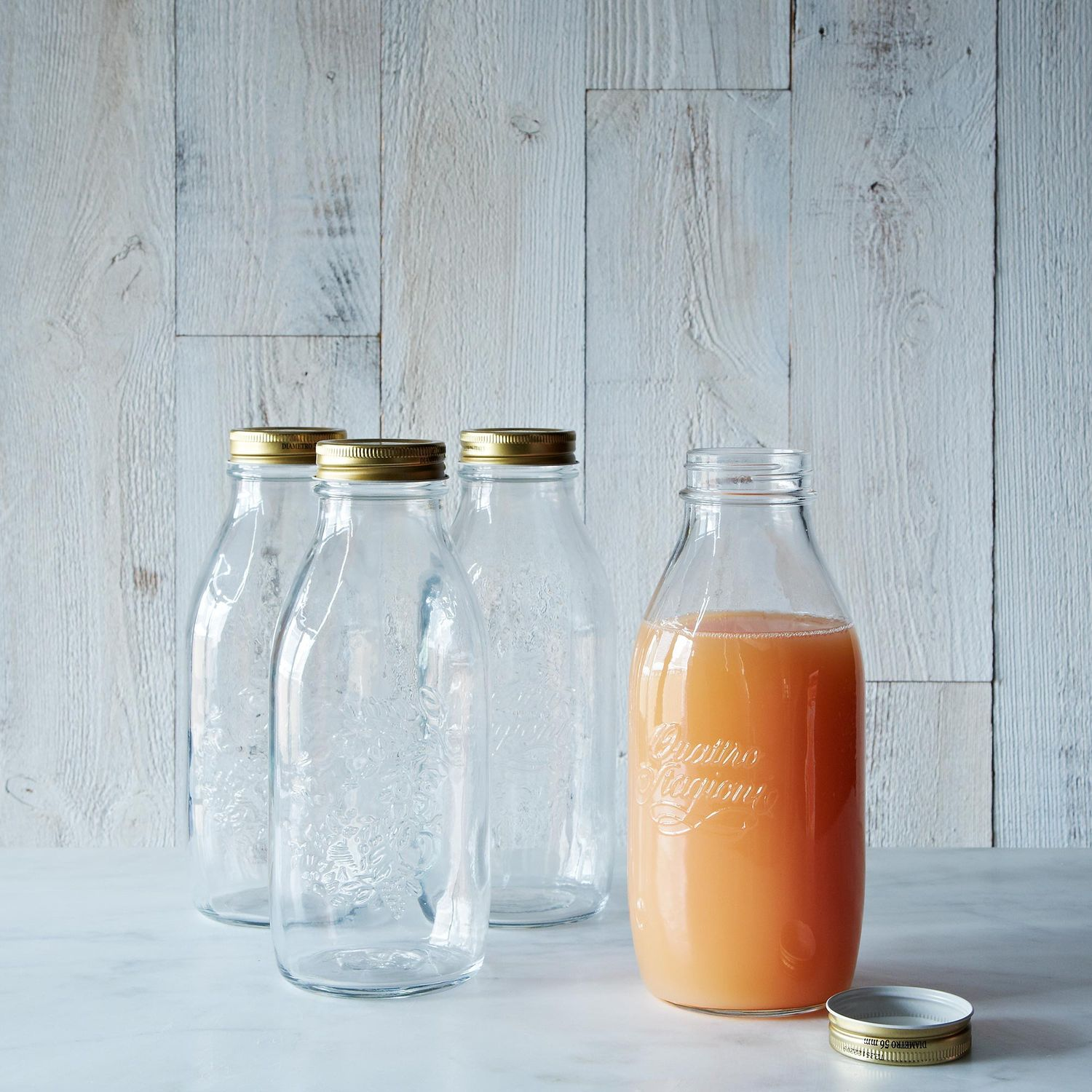 Quattro Staggioni 1 Litre Canning Bottle Set Of 12 On Food52