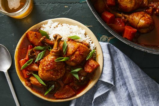 This Spicy, One-Pot Chicken & Potato Stew Is a Blaze of Korean Comfort