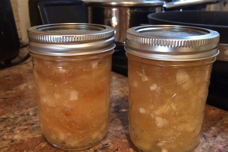 Apple Rosemary Jam