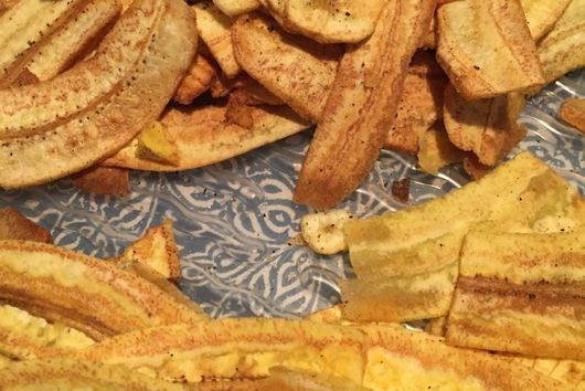 Savory Banana Chips