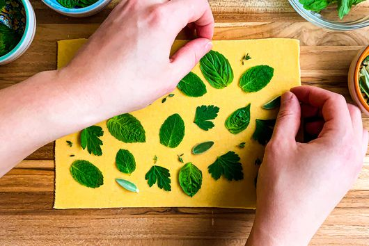 3 Ways to Use Extra Greens In Fresh Pasta