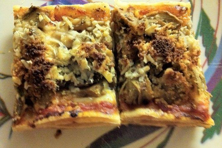 Artichoke Pizzettes