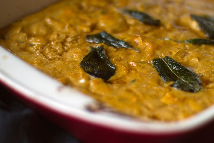 Brown Butter Fried Sage Squash Casserole