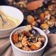 Boost Bowl With Lemon Tahini Sauce
