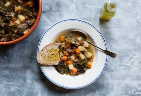 Cozy Up the Tuscan Way—With Hearty, Kale-Filled Bean Soup