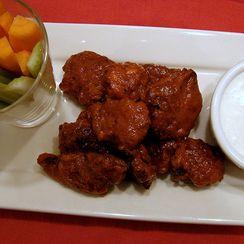 Buffalo-Style Fried Chicken Livers