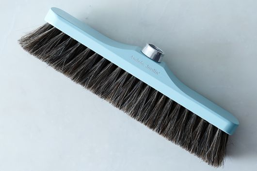 Vintage-Inspired French Push Broom, 12.75""