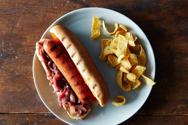 how to cook sauerkraut for hot dogs