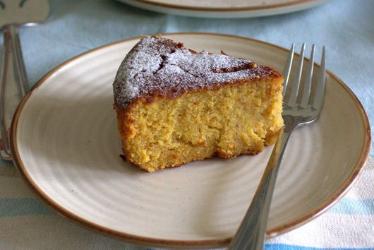 Orange and almond cake (gluten-free)