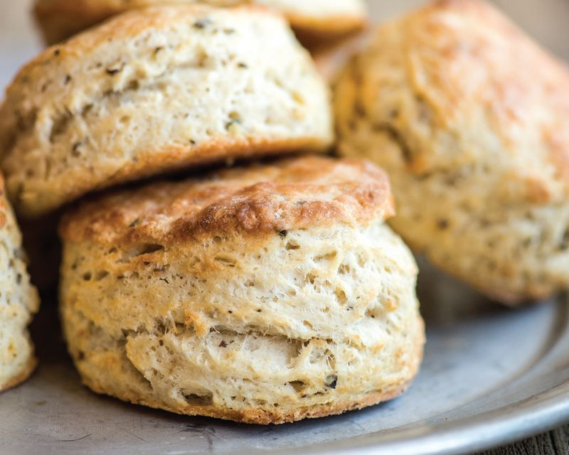 Quick buttermilk biscuit recipe with tellicherry pepper for Table 52 biscuit recipe