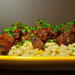 Mediterranean Lamb Shanks with Creamy White Beans