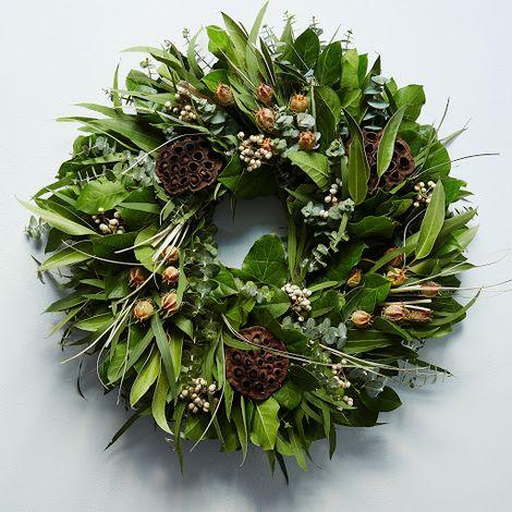 Fragrant Pod Wreath