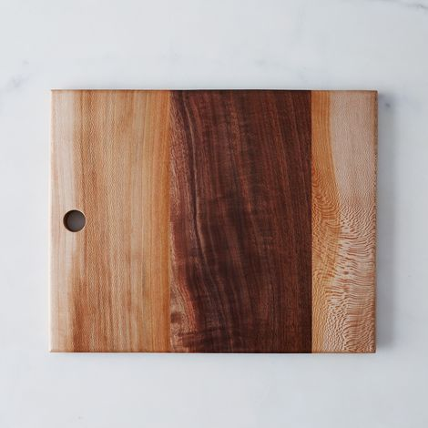 Rectangular Walnut and Sycamore Board