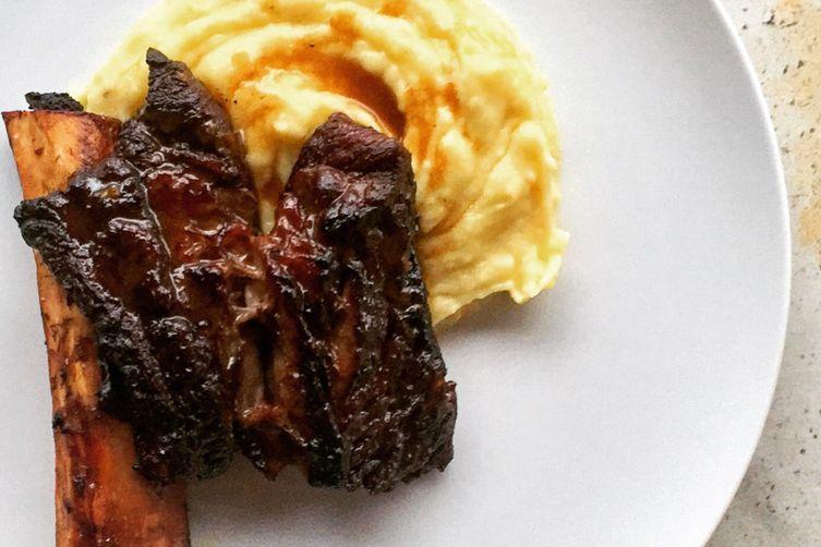 Braised Short Ribs + Black Truffle Mash