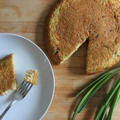 Quinoa and Salmon Breakfast Torte
