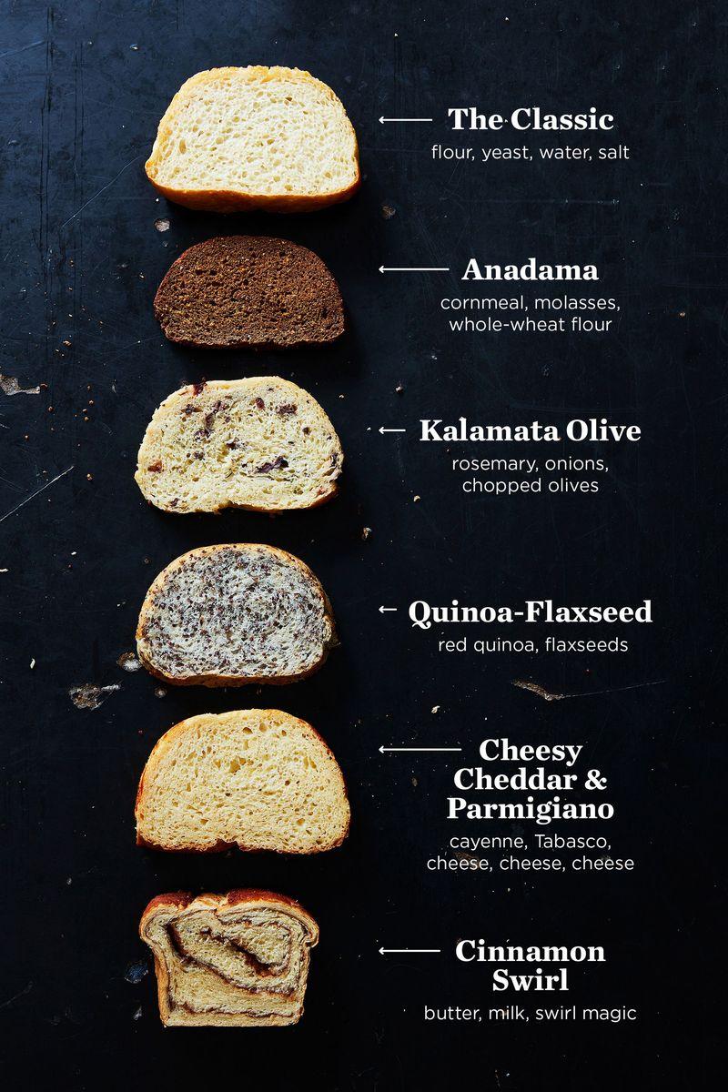 5 Easy Bread Recipes – No-Knead Peasant Bread