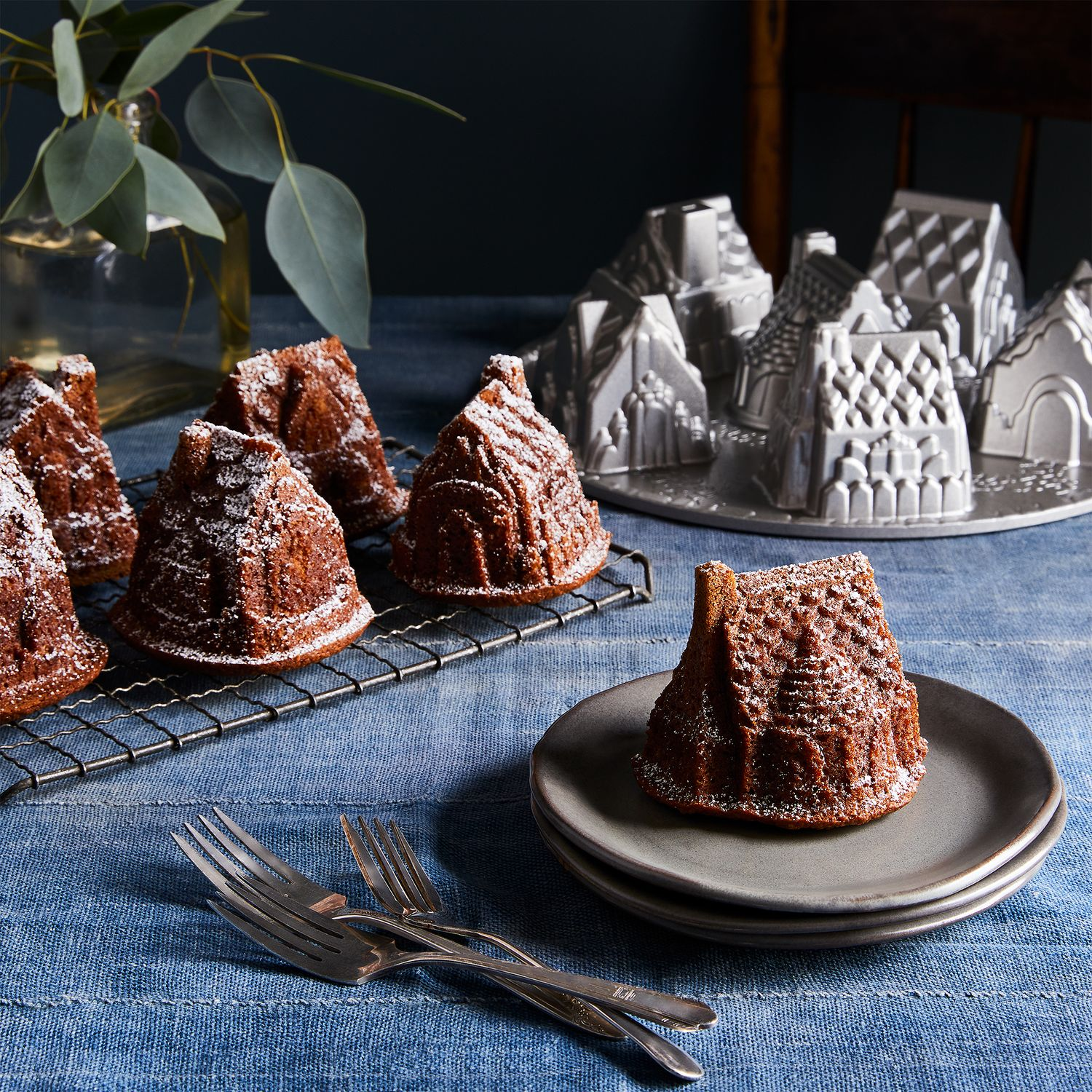 Nordic Ware Cozy Village And Train Baking Pans On Food52
