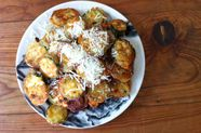 Roman Zucchini Fritters with Parmigiano Cheese