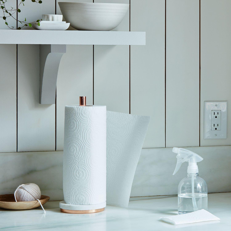 Marble Metal Paper Towel Holder On Food52