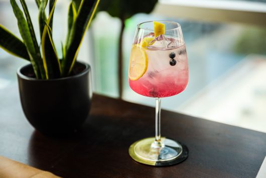 Blueberry Orange Spritz