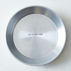 """Hidden Quote Pie Plate, 9"""""""