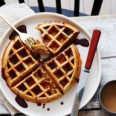 3d7da8ba 953f 4f5c bd4a 5b7bfe3d1f1b  2016 0617 ras al hanout pistachio belgian waffles with pomegranate honey syrup bobbi lin 25823