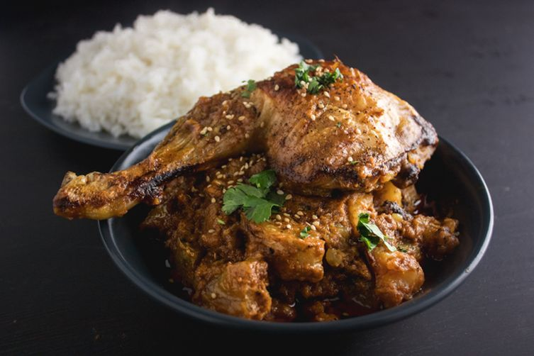 One-Pot Sticky Coconut Chicken Curry