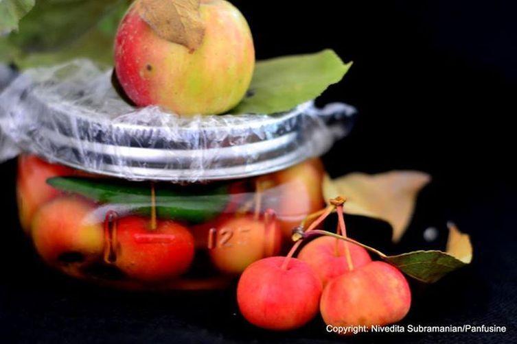 Crab apples in Brine