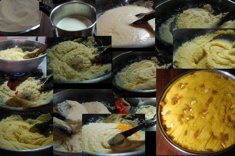 Sooji Ka Halwa (A Sweet Made from Semolina )