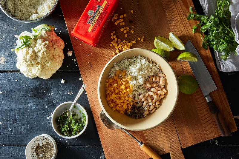 The makings of a brown bag-ready lunch.