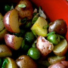 Italian Roasted Potato Salad