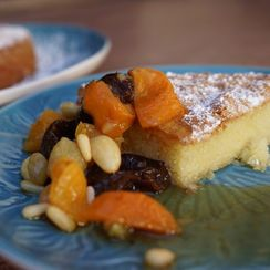 Dried Fruit Compote with Grand Marnier