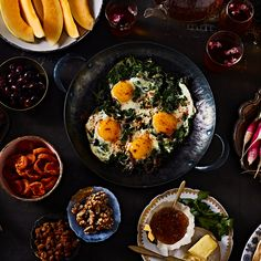 Persian Spinach & Eggs (Nargesi)