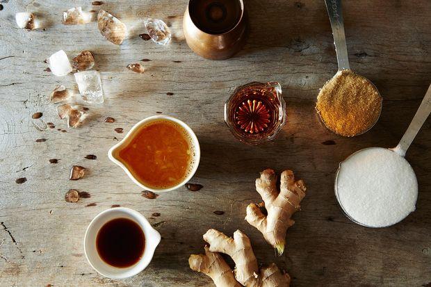 Bourbon, Orange, and Ginger