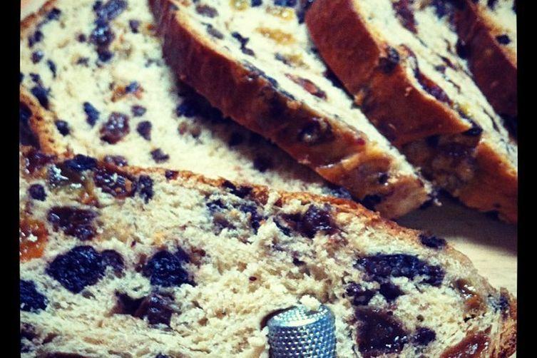 Barmbrack: Ireland's Traditional Halloween Fruit Bread.