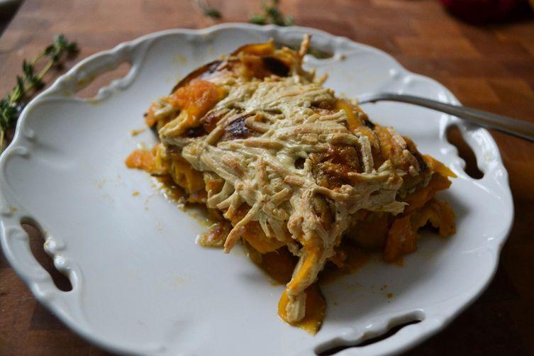 Sweet Potato, Tahini & Swiss Chard Gratin Recipe on Food52