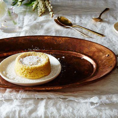 Molten Tahini Cakes: Mic Drop