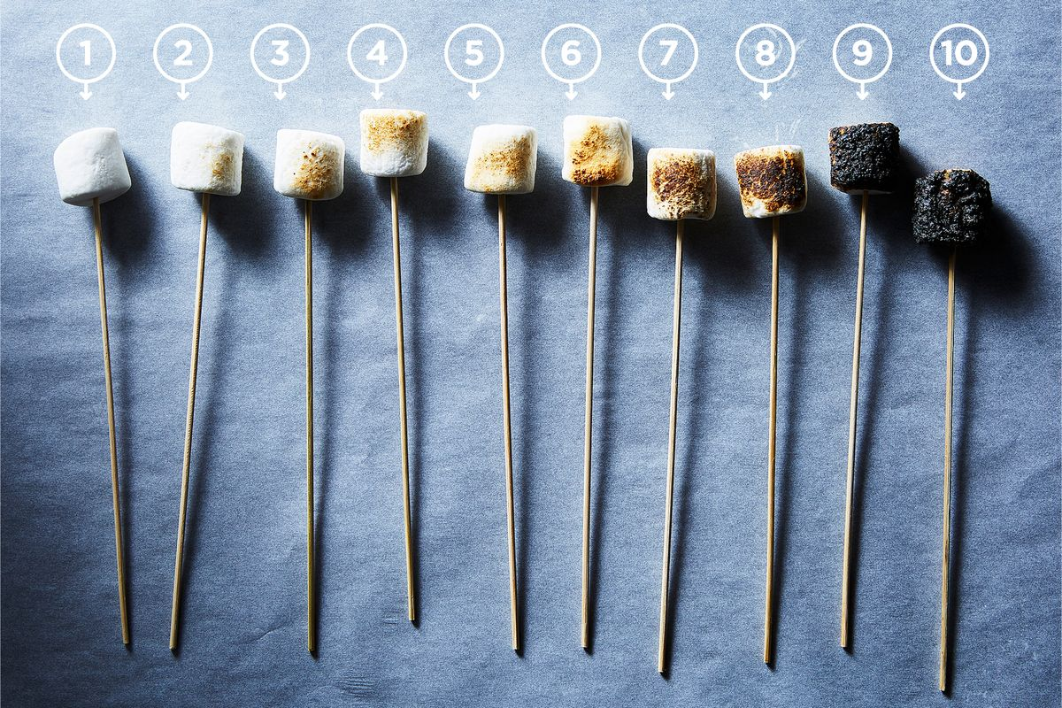 how to roast marshmallows for s mores