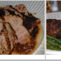 Sugar Bush Maple Coffee and Cocoa Rubbed Pork Tenderloin