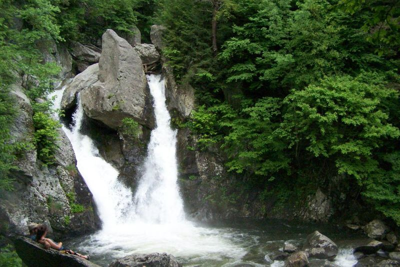 Bash Bish Falls, just over the state line into Massachusetts.